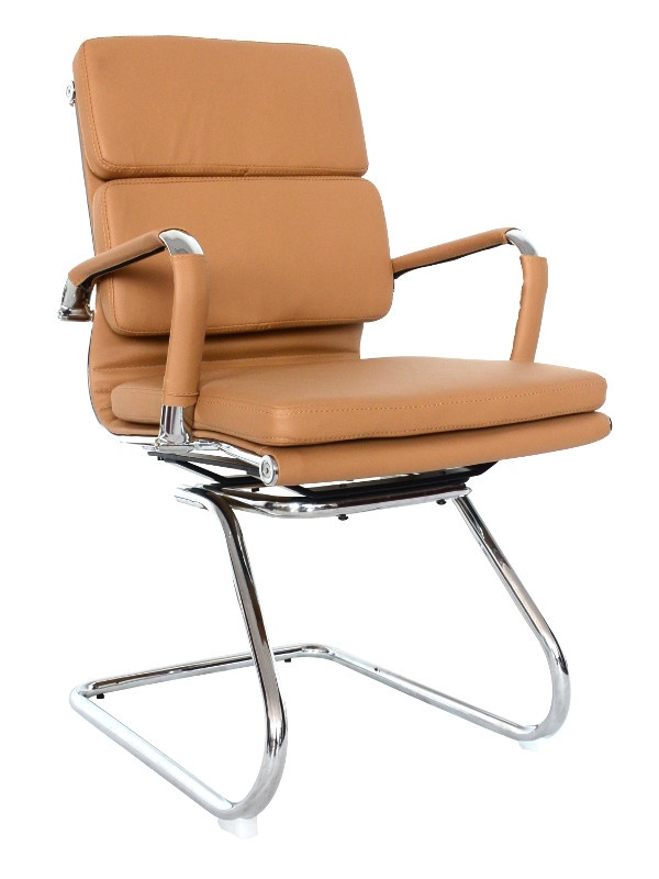 Classic Caramel Conference Chair