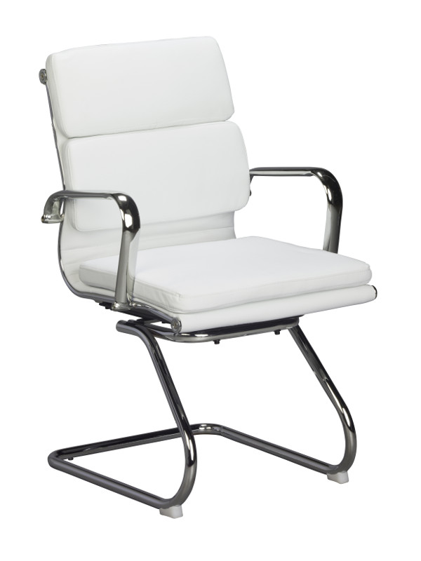 Classic White Conference Chair